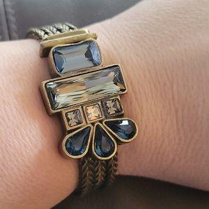 Silpada KR brass bracelet